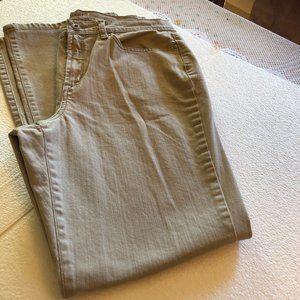 JEANSTAR - TAN BOOTCUT Size 12
